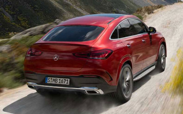 Mercedes GLE Coupe 2021 года