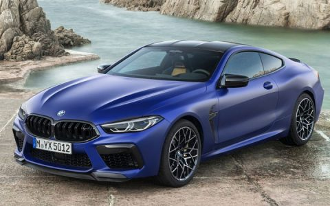 BMW M8 Coupe 2020-2021